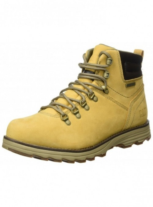 Caterpillar Sire WP, Botas para Hombre Amarillo  Mens Honey Reset  40 EU