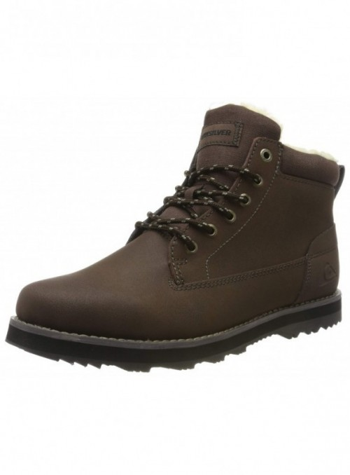 Quiksilver Mission V-Shoes for Men, Botas Slouch para Hombre, Marrón  Brown/Brown/Brown Xccc , 45 EU