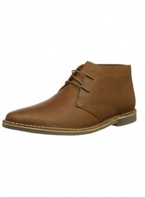 Red Tape Gobi, Botas Chukka para Hombre, Marrón  Honey 0 , 43 EU