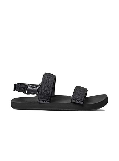 Reef Convertible, Chanclas para Hombre, Color Negro, 42 EU