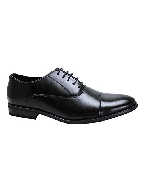 AK Collections - Zapatos de hombre elegantes para ceremonia clásica, color negro Negro 41