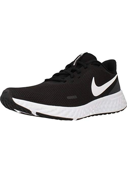 Nike Revolution 5, Zapatillas de Atletismo para Hombre, Multicolor  Black/Anthracite 001 , 40 EU