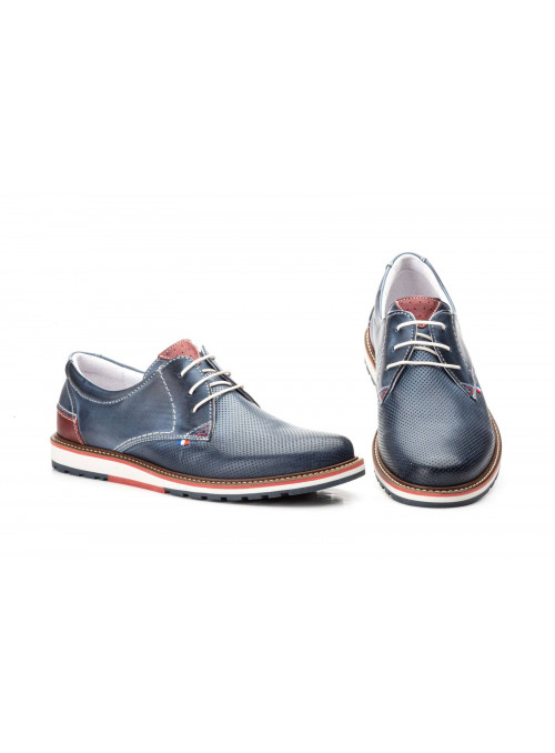 Zapatos Casual Hombre Piel Jeans Pepe Agulló