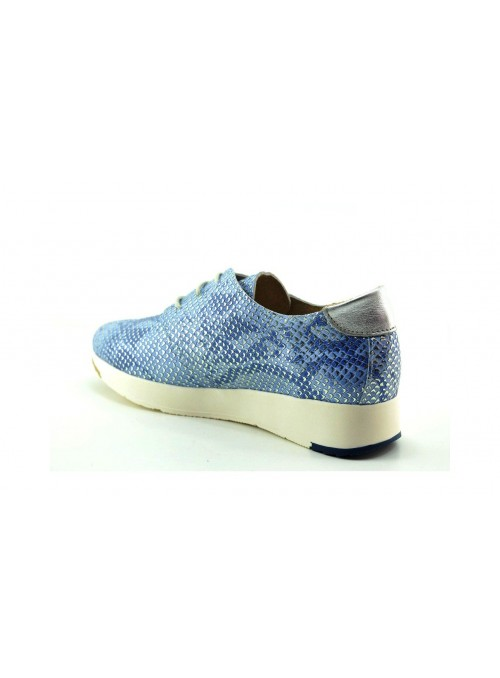 Zapatos Casual Mujer Azul
